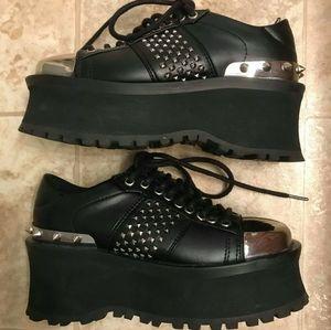 Demonia Gravedigger -02 Platform Shoes